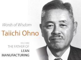 7 Wiekich Strat wgTaiichi Ohno (Toyota Production System)